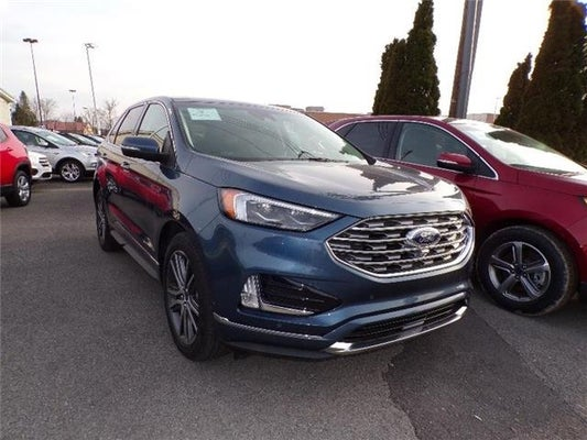 2019 Ford Edge Anium All Wheel Drive In Elkins Wv Auto